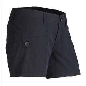 Marmot Ginny Dark Steel Gray Hiking Shorts Size 4